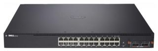 Dell SAN Switch 2 24x 10GBASE –T (10G/1Gb/100Mb)